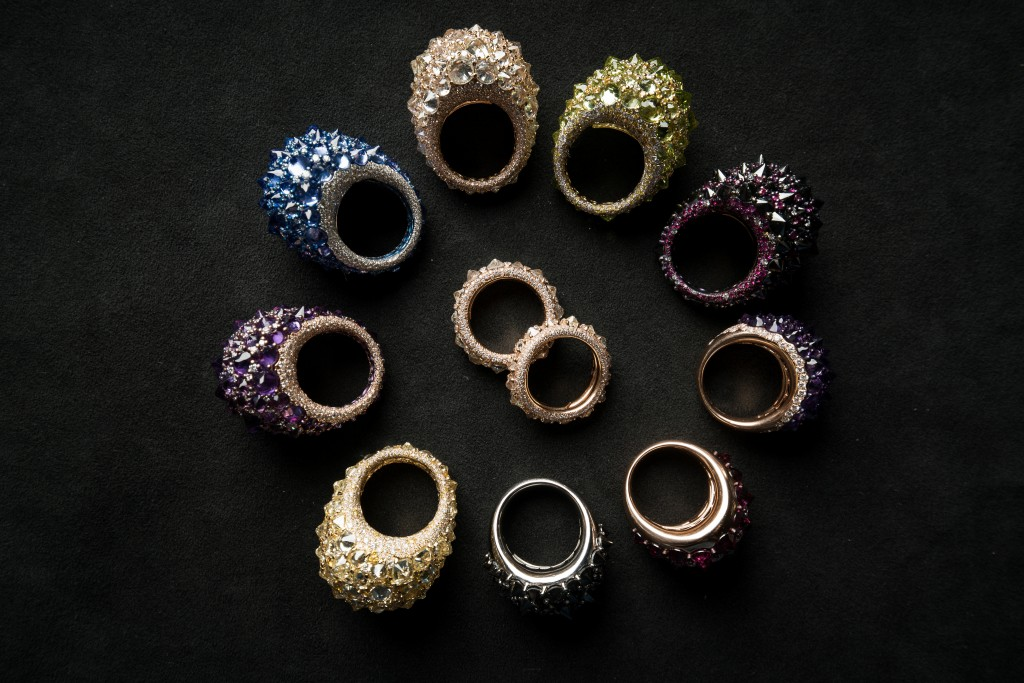 The new collection of rings Rêve_r by Mattioli
