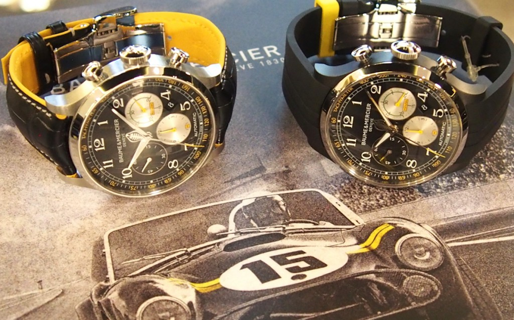 The two newest generation Capeland Cobra watches.