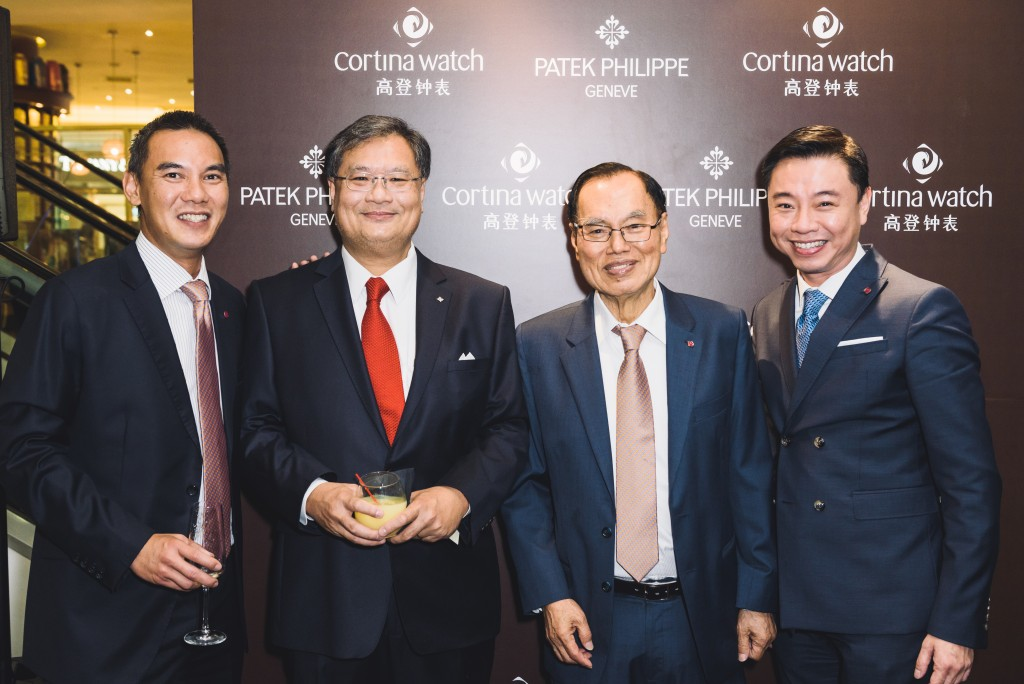 Mr. Jeremy Lim, Datuk Jerry Chan, Mr. Anthony Lim and Mr. Tay Liam Khoon